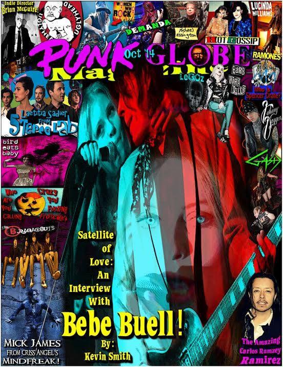 Bebe- Punk Globe Cover